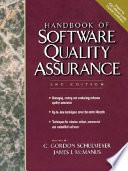 Handbook of Software Quality Assurance