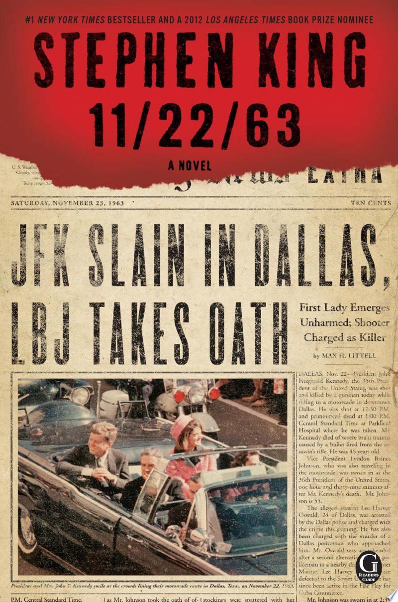 11/22/63 banner backdrop