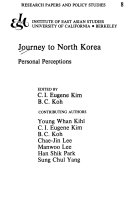 Journey to North Korea Book