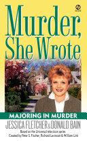 Murder  She Wrote  Majoring In Murder