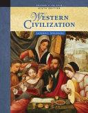 Western Civilization to 1715 Book