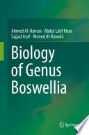 Biology of Genus Boswellia Book