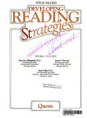 Developing Reading Strategies, Book 2