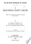 A midsummer-night's dream, Midsummer night's dream 1893
