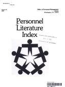 Personnel Literature Index