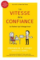La Vitesse De La Confiance (French Edition) Pdf/ePub eBook
