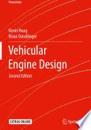 """""""Vehicular Engine Design"""" by Kevin Hoag, Brian Dondlinger"""