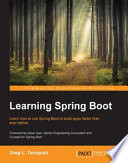 Learning Spring Boot