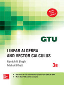 Linear Algebra and Vector Calculus (GTU 2016)