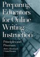 Preparing Educators for Online Writing Instruction