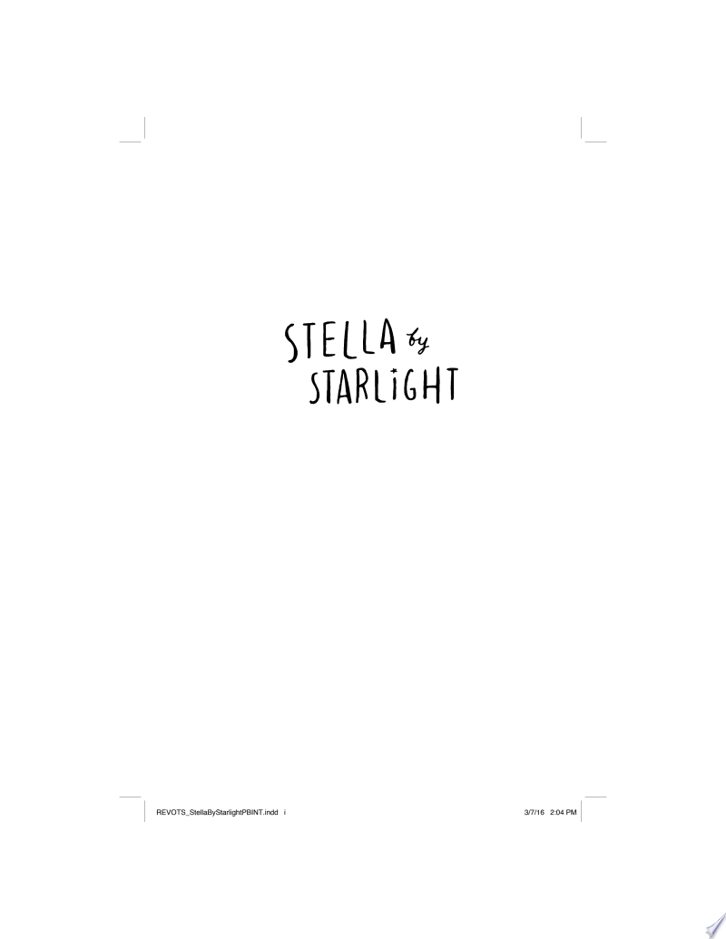 Stella by Starlight image