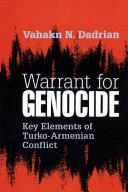 Warrant for Genocide