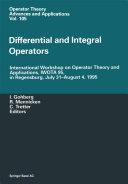 Differential and Integral Operators [Pdf/ePub] eBook