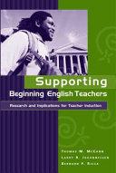 Supporting Beginning English Teachers