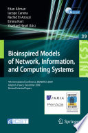 Bioinspired Models of Network  Information  and Computing Systems