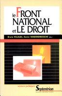 Le Front national au regard du droit