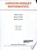Addison-Wesley mathematics