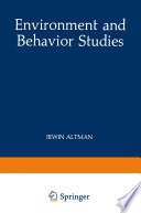Environment And Behavior Studies