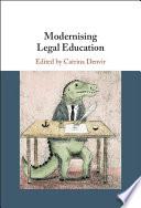 Modernizing Legal Education