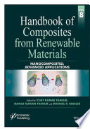 Handbook of Composites from Renewable Materials  Nanocomposites Book