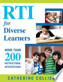 RTI for Diverse Learners  : More Than 200 Instructional Interventions