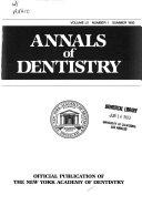 Annals of Dentistry