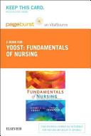 Fundamentals of Nursing Pageburst on Vitalsource Retail Access Code