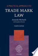 A Practical Approach To Trade Mark Law Book PDF