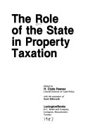 The Role of the State in Property Taxation
