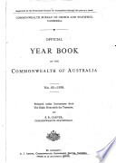 Official Year Book Of The Commonwealth Of Australia No 45 1959