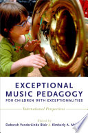Exceptional Music Pedagogy For Children With Exceptionalities
