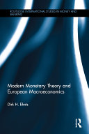 Modern Monetary Theory and European Macroeconomics Pdf/ePub eBook