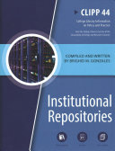 Institutional Repositories Book PDF