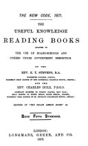 The New code  1871  The useful knowledge reading books  ed  by E T  Stevens and C  Hole  6 boys  standards
