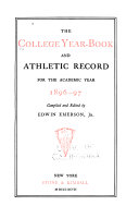 The College Year-Book and Athletic Record