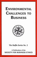 Environmental challenges to business