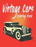 Vintage Cars Coloring Book