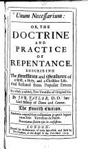 Unum Necessarium, Or The Doctrine and Practice of Repentance ebook