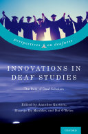 Innovation in Deaf Studies