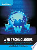 Web Technologies  TCP IP  Web  Java Programming  and Cloud Computing  3e Book