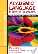 Academic Language In Diverse Classrooms English Language Arts Grades K 2