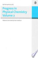 Progress in Physical Chemistry Vol 2