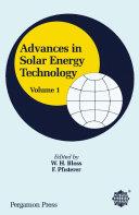 Pdf Advances in Solar Energy Technology Telecharger