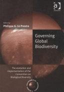 Governing Global Biodiversity Book PDF