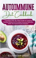 Autoimmune Diet Cookbook Book
