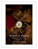 Pdf Words of Wisdom (Volume 52) Telecharger