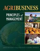 Agribusiness  Principles of Management