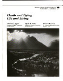 Death and Dying  Life and Living Book