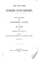 The New York Supreme Court Reports