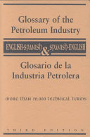 Glosario de la Industria Petrolera